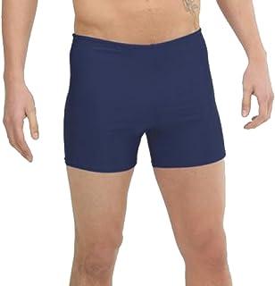 Zika Unisex Square Leg Swimming Training Shorts Regulation School Swim Trunks