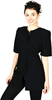 Smockers Cathy Professional Salon Smock, Stylist Jacket, Cosmetology Uniform