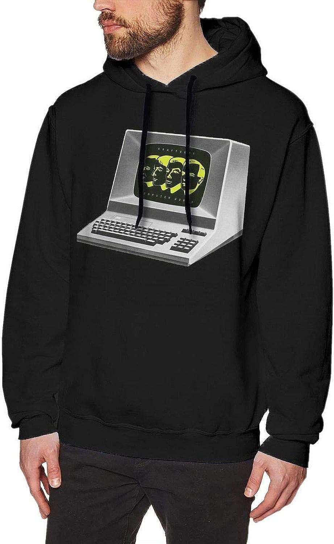 - - - YoungerMan Kraftwerk Computer World Mens Hoodies Hoodie Black cc0396