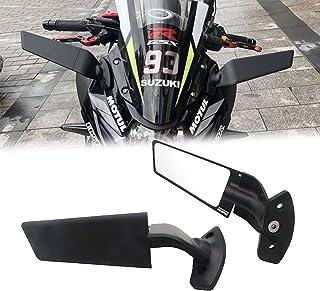 Semspeed バイク用 ミラー オートバイのバックミラー 鈴木 SUZUKI GSX250R 2016-2021
