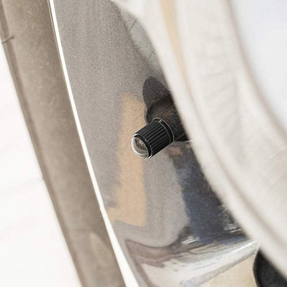 Motorbike Bike Premium Tire Caps Valve Stem Caps Tyre Valve Dust Caps Dustproof Tire Cap for Car Weite Valve Dust Caps, 36 Pieces Trucks