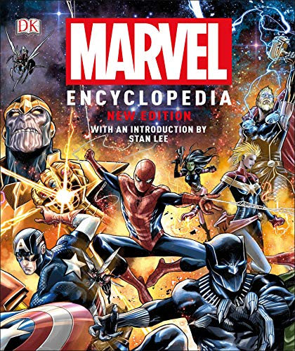 Marvel Encyclopedia Hardcover  (New Edition)  $17 at Amazon