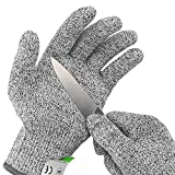 Ultra Durable Cut Resistant Gloves, for Kitchen Cooking, Oyster Shucking, Fish Fillet Processing, Mandolin Slicing, Meat...