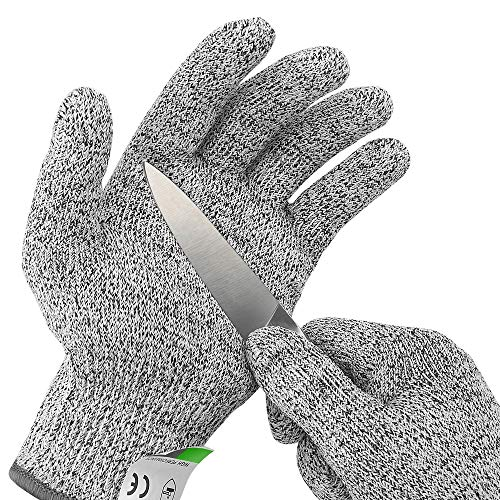 Ultra Durable Cut Resistant Gloves, for Kitchen Cooking, Oyster...