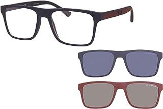 Emporio Armani EA 4115 Matte Blue/Clear Blue/Blue Clip-On 54/18/145 men Sunglasses