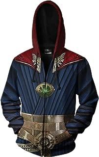 Super Hero Costume Autumn and Winter Hoodie Creative Sweater for Halloween