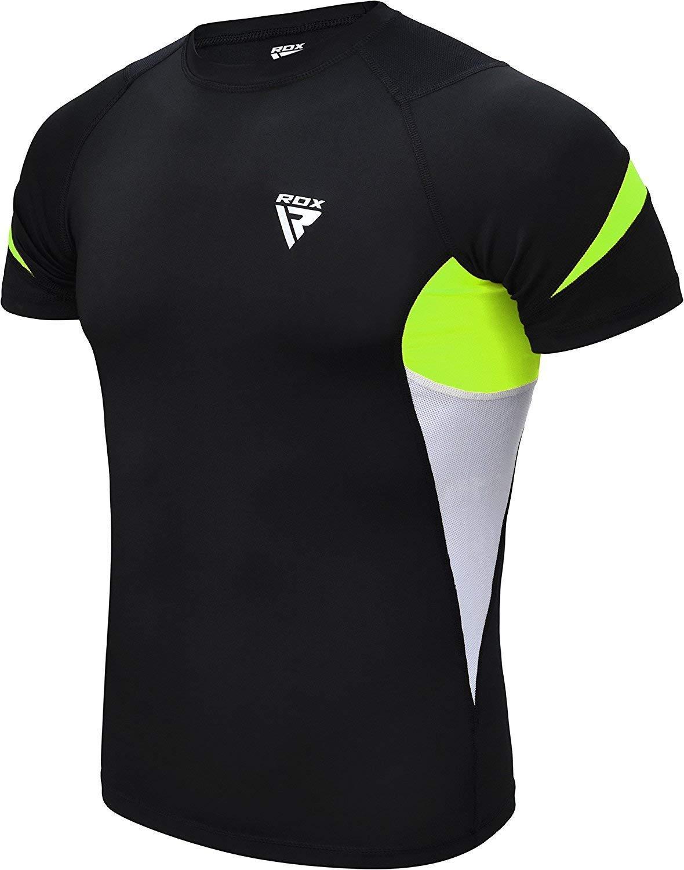RDX rashguard baselayer Functional Shirt Long Sleeve MMA Martial Arts FDC Sweatshirt DE