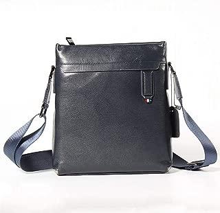 Mens Bag Men's Shoulder Slung Bag Top Layer Leather Casual Fashion Bag Leather Men's Bag High capacity