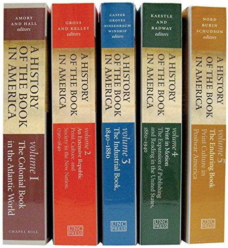 A History of the Book in America, 5-volume Omnibus E-book: Includes all Five Volumes