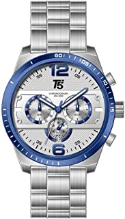 T5 Casual Watch For Men Analog Stainless Steel - H3520G