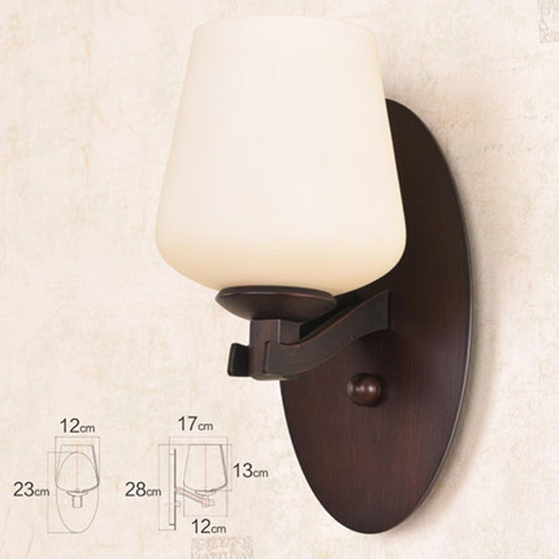 Wall lamp.A ASL Retro Wand-Lampen-Eisen-Lichter Wohnzimmer-Schlafzimmer-Lichter-Hintergrund-Licht-einfacher Spiegel-vorderes Licht-Gang-Lichter A