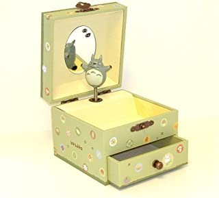 Totoro Studio Ghibli My Neighbor Music Box with a Drawer