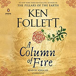 A Column of Fire audiobook cover art