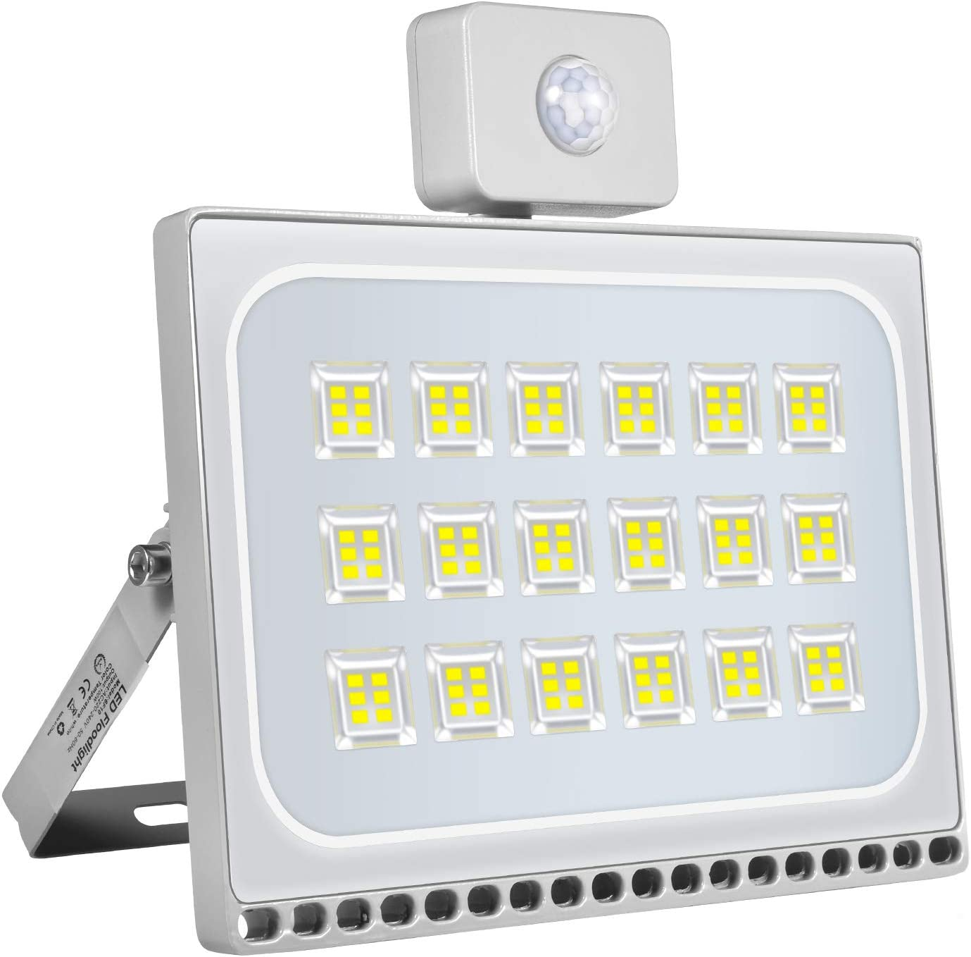 Led Motion Sensor Flood Light 6500 Max Max 49% OFF 63% OFF 100W 8000LM Sararoom Outdoor