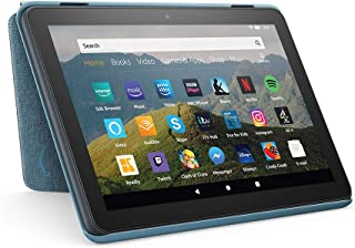 Amazon Fire HD 8 Tablet Case | Compatible with 10th generation tablet (2020 release), Twilight Blue