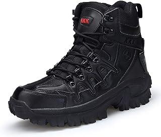 Holystep Bottes Militaire Patrouille Combat Armée Tactique Désert Sécurité Chaussures de Randonnée pour Homme
