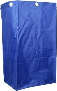 Janitorial Cart Bag 40x28x69cm Huishoudelijke Verrijdbare Verrijdbare Zak Blauw