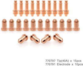 120573 Electrode 120826 Tip Nozzle fit Plasma Cutting Torch 600 900 20pcs