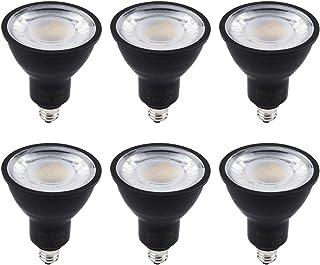 xydled LEDスポットライト E11口金 LED電球 60w形相当 電球色 600lm ハロゲン電球 JDRφ50 LEDライト (電球色ブラック 6個入り)