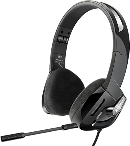 popular Gaming outlet sale Headset with Microphone Compatible for new arrival PC PSP PS4 Mac Laptop, iKiKin Over Ear Gaming Headphones Noise Canceling Foldable Headphones with Surround Sound Stereo for Kids Adults (Black) sale