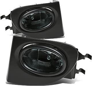 For Honda Civic Si Driving Bumper Fog Light+Bulbs+Switch (Smoke Lens) - 7th Generation EP K20A3