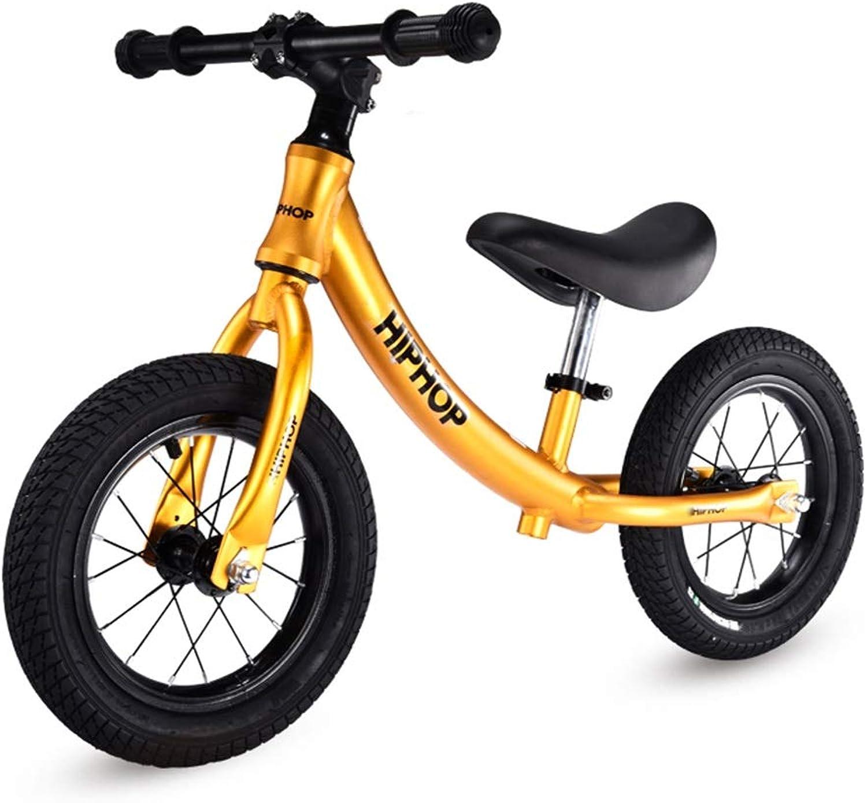 solo cómpralo Bicicleta sin pedales Bici Balance Bike for Boy - - - Bicicleta Liviana sin Pedales con neumáticos, 2 3 4 5 6 años (Color   naranja)  mejor opcion