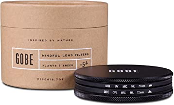Free Mircofiber Lens Cloth Ultra-Slim 62mm X1 Circular Polarizer Weather Sealed MRC8
