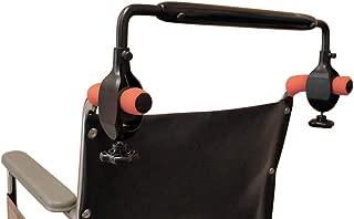 wheelchair handle extender bar