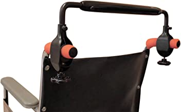wheelchair stroller handle