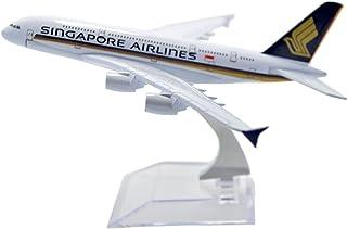 TANG DYNASTY 1/400 16cm シンガポール航空 Singapore Airlines エアバス A380 高品質合金飛行機プレーン模型 おもちゃ