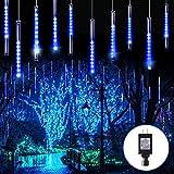 Blingstar Meteor Shower Lights 30CM 10 Tubes 240 LED Christmas Lights Plug in Snowfall LED...
