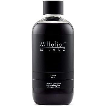 Millefiori Milano MILLEFIORI Natural Ricarica DIFFUSORE A Stick 250ml Nero MOD. Mill.7REMNR ND