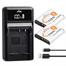 Pickle Power NP-BG1 Battery and Charger Set Compatible with Sony Cyber-Shot DSC-H3 DSC-H7 DSC-H9 DSC-H10 DSC-H20 DSC-H50 DSC-H55 DSC-H70 Camera