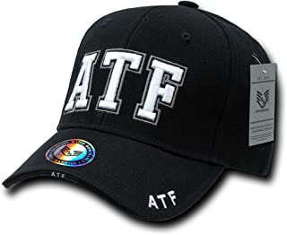 Rapid Dominance Unisex Adult Deluxe Embroidered Law Enforcement Caps - ATF