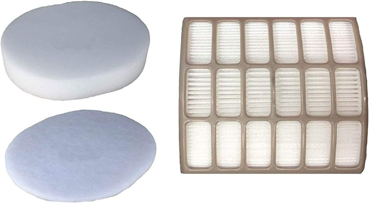 LifeSupplyUSA HEPA Max 73% OFF Foam Max 84% OFF and Felt Compatible Shar Kit with Filter