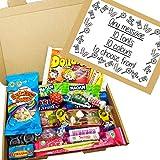 Eventabox - Caja de golosinas variadas para regalo (tamaño A5, con etiqueta personalizada)