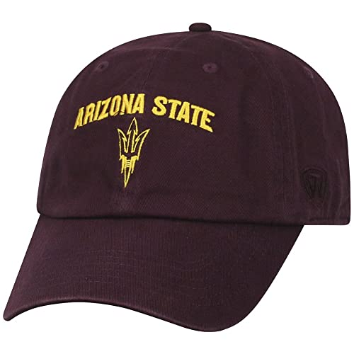 30b099c446dfa Top of the World NCAA Men s Hat Adjustable Relaxed Fit Team Arch