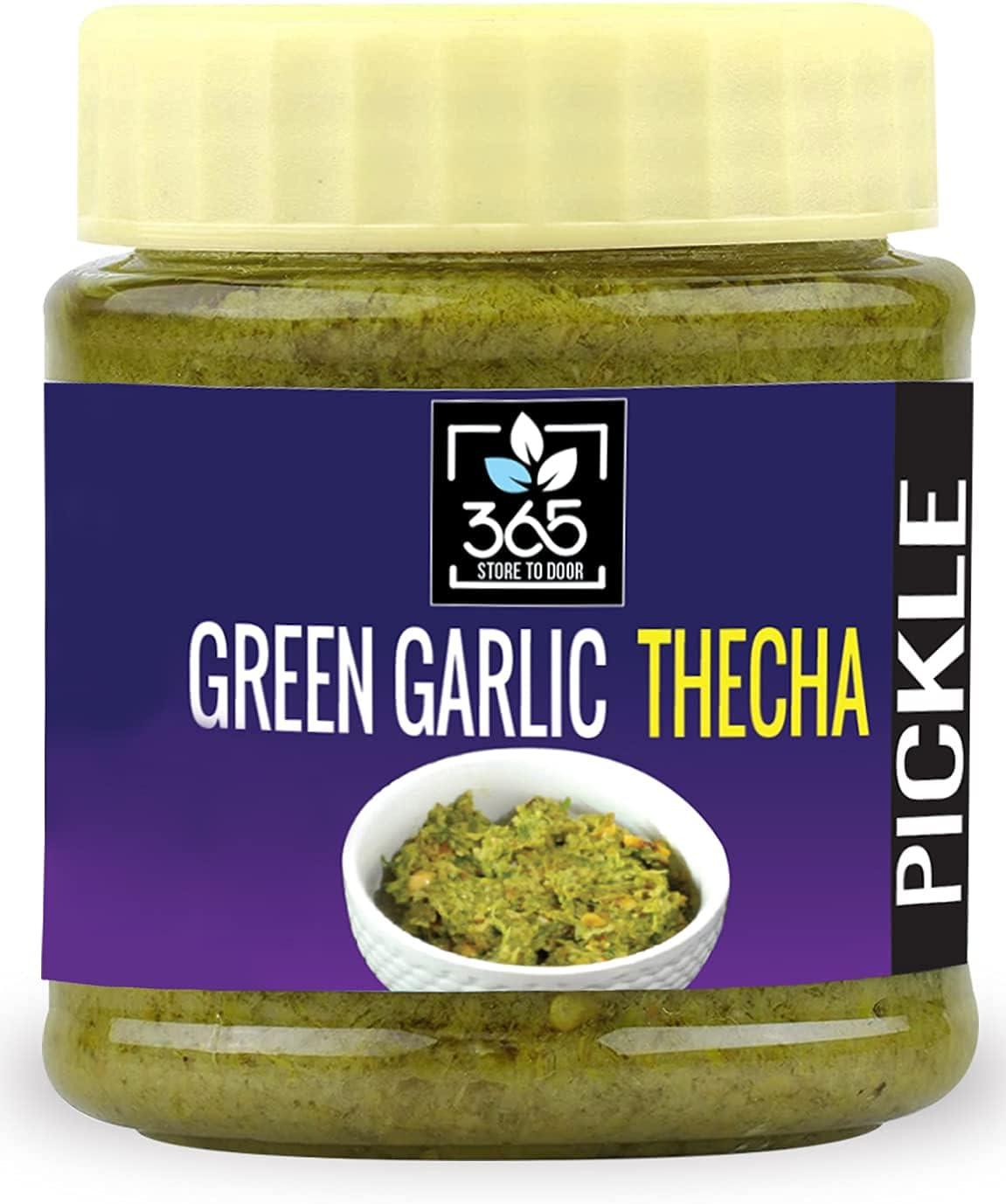 Bluenile 365 Store to Sale SALE% OFF Door Green g Garlic 5 ☆ very popular Achaar Thecha 250