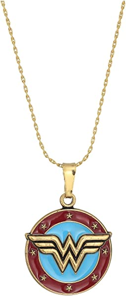 Alex and Ani - Wonder Woman Logo Expandable Necklace
