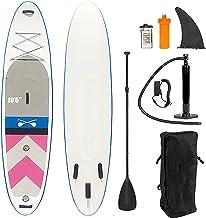 Snel Opblazen Opblaasbare Paddle Boards, 3-Fin & Floatable Paddle Antislip Deck, Waterdichte Telefoonhoes, Rugzak voor Jeu...