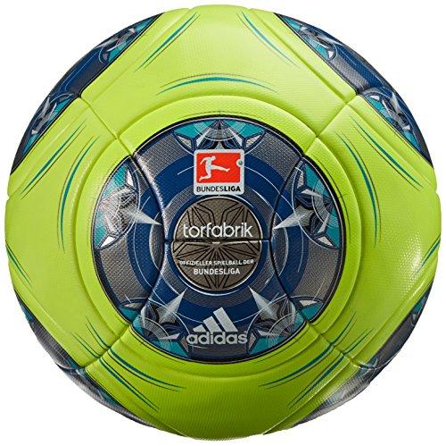 adidas Fußball Torfabrik 2013 DFL 13 Matchball Winter - Balón de fútbol de Ocio, Color Blanco, Plateado, Talla 5