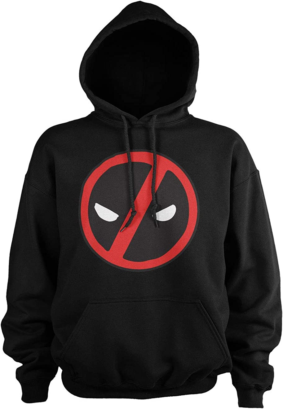 Deadpool Officially Licensed Icon Hoodie Tall Black online shopping Big New York Mall