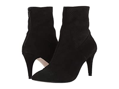 Free People Willa Ankle Boot (Black) Women