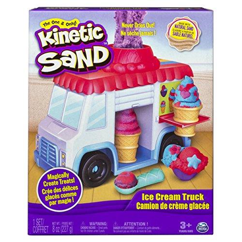 Kinetic Sand- Playset Furgoncino dei Gelati, 6035805