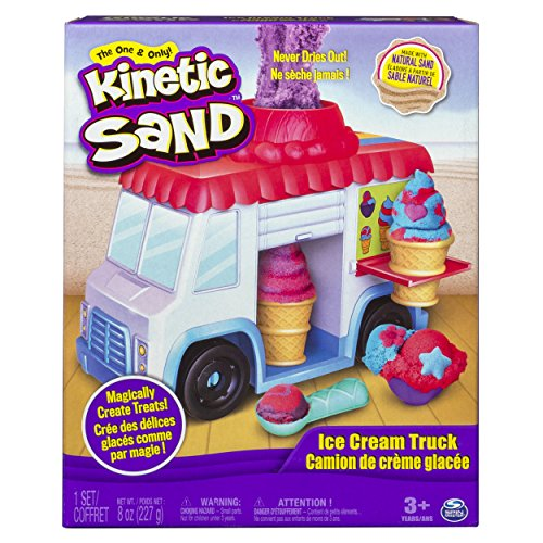 Kinetic Sand 6035805 - Eiswagen