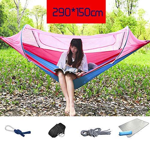 HUHD Moskitonetz Für Hängematte, Lightweight Portable Ripstop Nylon Insekt-kostenloser Camping Backpacking & Survival Outdoor Zelt-h 290x150cm(114x59inch)