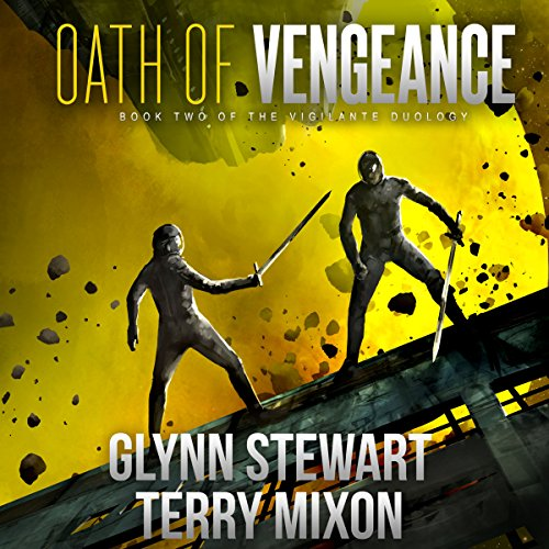 Oath of Vengeance audiobook cover art