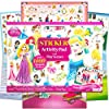 Disney Princess Giant Sticker Pad Over 1000 Disney Princess Stickers Featuring Cinderella, Snow White, Ariel, Rapunzel, Belle, Aurora, Tiana Plus Bonus Castle Doorhanger