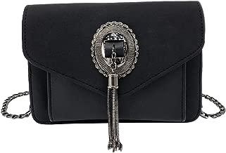 حقيبة كتف عصرية مصنوعة من الجلد الصناعي الصناعي صغيرة الحجم بتصميم على شكل حقيبة يد كاجوال للنساء والفتيات (أحمر)