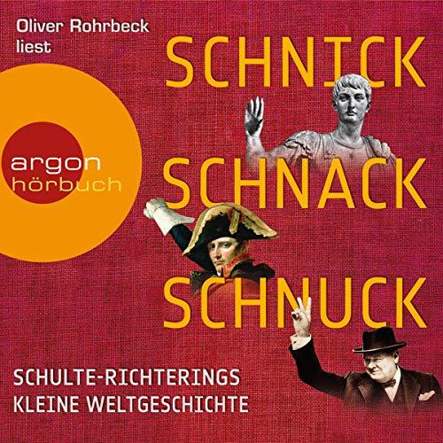 Schnick, Schnack, Schnuck cover art